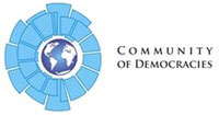 Community of Democracies logo